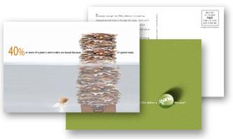 postcard campaign sample