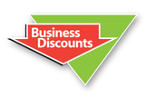 Business Discounts triangle
